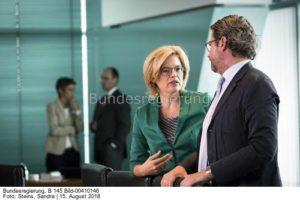 Das Umsteuern fängt nicht erst heute an. .; Julia Klöckner hier mit Andreas Scheuer