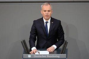 Verkündet die Abschaltung Block 1 des AKW-Fessenheim, Francois De Rugy, bild Bundestag
