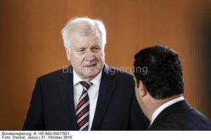 ....die Einigung zum Klimaschutz trägt unsere Handschrift.....; Bundesinnenminister Horst Seehoferbild jesco denzel
