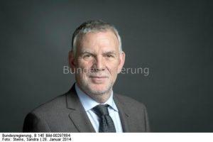 """""""...wir nehmen den notwendigen Strukturwandel in der Lausitz genauso ernst nehmen wie den Kohleausstieg"""", Jochen Flasbarth, bild sandra steins"""