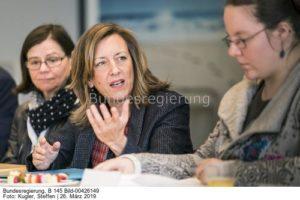 ...ich spreche über das Klimaprogramm t   ...; Ulrike Demmer, bild steffen kugler