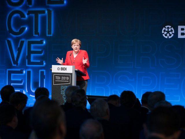 Darum habe ich immer für den Bau von Nord-Stream 2 plädiert ..., Bundeskanzlerin Angela Merkel, bild steffen kugler