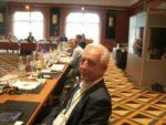 Anfang des Jahreshatte er den Kohleausstieg Deutschlands bis 2035 verhandelt ...; Stanislaw Tillich, hier im Arbeitskreis Wirtschaft und Ökoogie des Petersburger Dialogs, der am zweiten Tagim Maritim in Königswinter Bonn verhandelte ...; Bild Umwelt- und Energie-Report