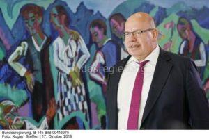 Wir brauchen einen gasvertrag ...; Bundeswirtschaftsminister Peter Altmaier, bild Steffen Kugler