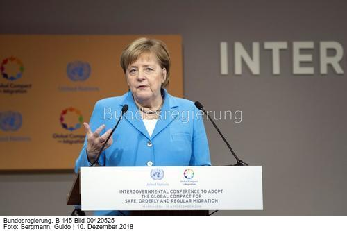 """""""... ..Kanzlerin Angela Merkel, wird heute um 15.10 Uhr das sogenannte High-Level-Segment um 15.10 Uhr mit einem Eingangsstatement eröffnen....; Angela Merkle, bild Guido Bergmann"""