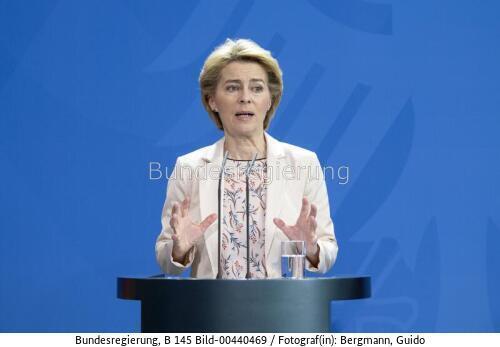 """"""" """"Der European Green Deal ist unsere Vision für ein klimaneutrales Europa ..Ursula vpn der Leyen, bild bundesr. Guido Bergmann"""