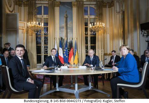Unsicherheit über die deutsch-russische Gaszukunft ... Merkel, Putin Selensky