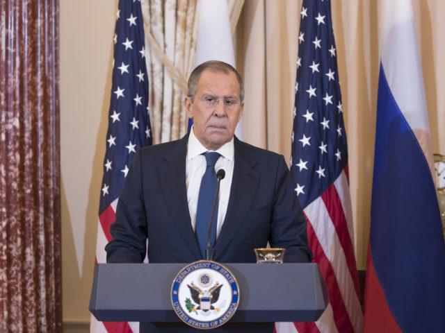 """...Amerikas Russlandpolitik ist dumm ...""; Sergej Lawrow, bild russ. Außenm."