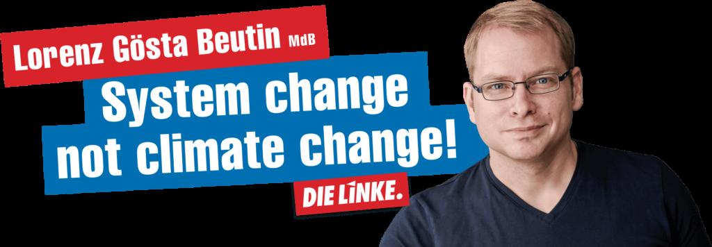 """""""Die Große Koalition hat nur Klima-Pillepalle zu bieten ...""""; Lorenz Gösta Beutin"""