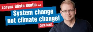 """""""...dass wir es nicht nur mit leeren Wahlkampfhülsen zu tun haben...""""; Lorenz Gösta Beutin"""