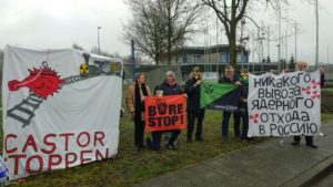 Proteste gegen drohende Castor-Atommülltransporte ...bild BBU