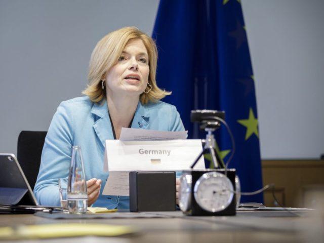 """""""..Damit ist eines der zentralen Ziele der deutschen Ratspräsidentschaft erreicht....""""; .Julia Klöckner, bild bmel Schmitz"""
