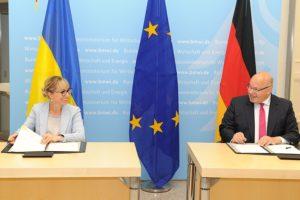 """""""...dass wir unsere bilaterale Zusammenarbeit im Energiebereich zwischen Deutschland und der Ukraine weiter intensivieren...; Bild Olha Buslawez"""
