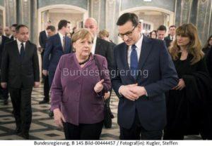 """""""...wenn Berlin auf Nord Stream 2 verzichten würde, wäre Polen bereit, Deutschland Zugang zu der im Bau befindlichen Gasleitung Baltic Pipe zu gewähren...""""; Kanzlerin Angela Merkel und der poln Ministerpräsident Mateusz Morawiecki"""