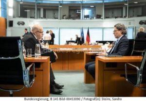 Sie wollen  das gemeinsam machen  ...; Altmaier, l. und Scheuer bild bundesrg Sandra Steins