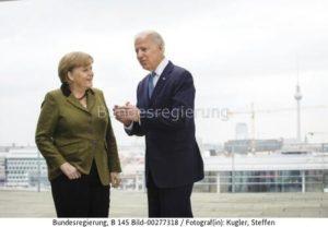 """""""...  Einigung mit Biden über die  umstrittenen Gaspipeline .........? Angela Merkel und US-Präsident Joe Biden"""