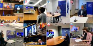 """""""..Die EU muss die Fertigstellung der Ostsee-Pipeline sofort aufhalten...."""" EU-Parlament Sitzung während der Pandemie, bild eu"""