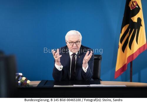 Er muss nur noch unterzeichnen ...; Frank Walter Steinmeier