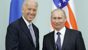 Nord-Stream 2: Können sie sich am Mittwoch einigen...? Joe Biden und Wladimir Putin, Bilöd Alexej Druschinin