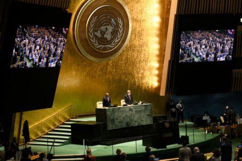 """""""…mehr internationales Engagement beim Kampf gegen den Klimawandel …!"""""""